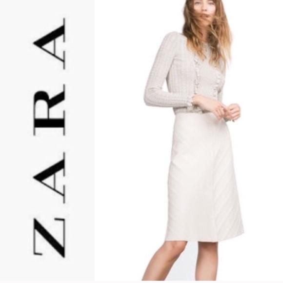 a58b8444a1 Zara diagonal knit midi skirt. M_5a6815c845b30c25386e5fc6